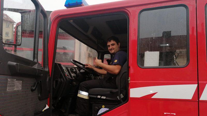 Warum Fadel Mohamad Alali bei der Feuerwehr mit anpackt…